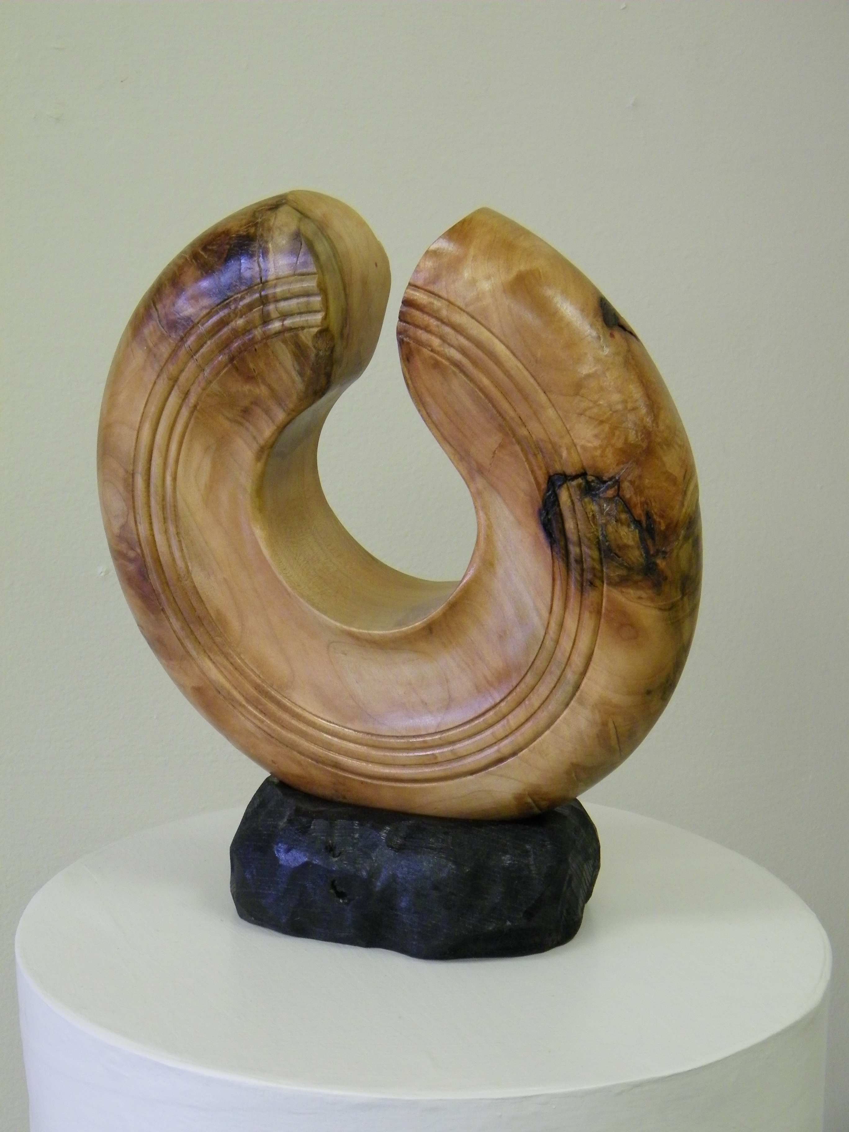 Sugar maple sculpture